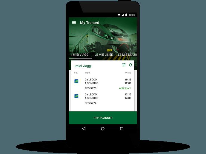 app gratis trenord